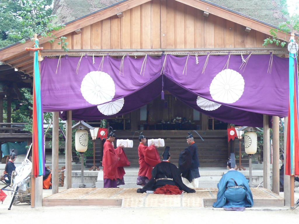 石清水祭奉幣祭奉幣