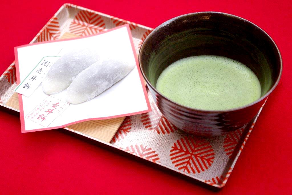 石清水八幡宮清峯殿 桜 くすのき茶屋